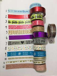 washi tapes for sale #under9
