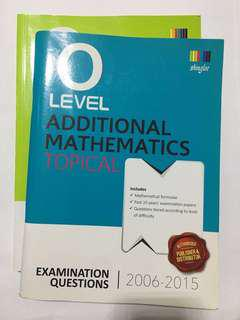 o level mathematics assessment books #under9