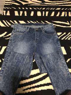 Brand new cheap monday jeans