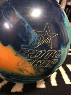 Rotogrip bowling ball
