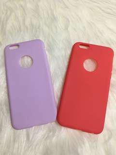 Softcase cute color iphone 6/6s