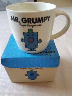 Mr Grumpy Mug official merchandise by Roger Hargreaves