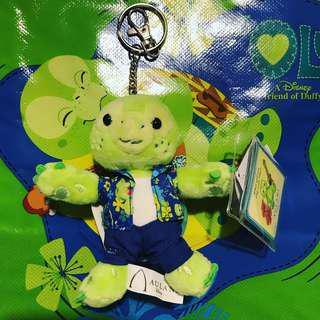 Disney Aulani Olu (duffy Friends) key chain 美國迪士尼樂園 夏威夷 小海龜鎖匙扣