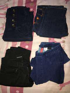 Jeans (80.000 each)