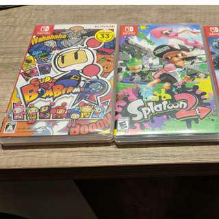 Nintendo Switch Games (Used)