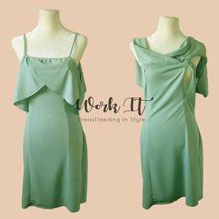 Ann Dress Nursing Clothes