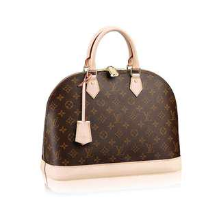 Louis Vuitton LV Alma PM Monogram Canvas Handbag