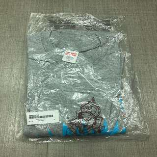 XL SUPREME GANESHA TEE (GREY)