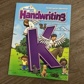 A Reason for Handwriting Book (God's Creation - Animals)
