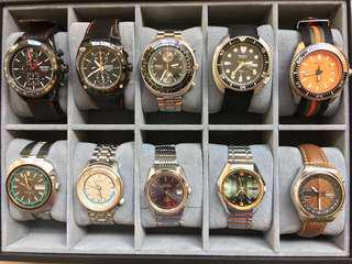 Sharing some of my Seiko collection