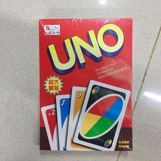 uno jumbo card games 10 inches