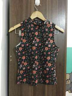 Floral Sleeveless Too