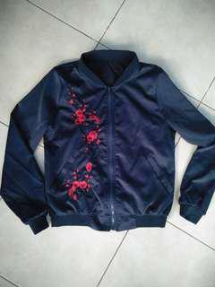 Bomber Jacket (Navy Blue)