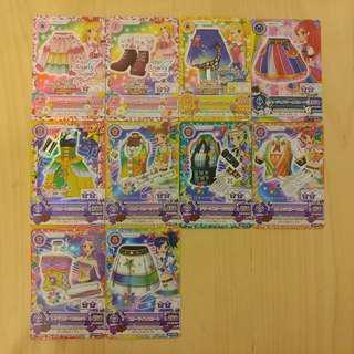 星夢學園 Aikatsu 偶像活動 AK CP卡