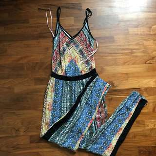 eb0a863ab103 forever 21 bohemian tribal jumpsuit romper