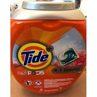 Tide Pods 4 合 1 ,80粒裝