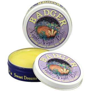 Night-Night Balm for Kids, Lavender & Chamomile, Badger Company (21 g)