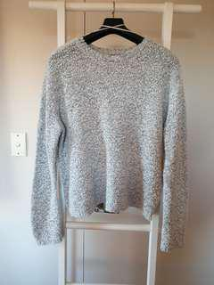 Light Grey Oversize Sweater