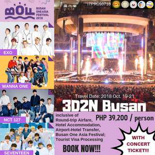 2018 Busan One Asia Festival Tour Package