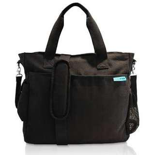 Baby K Tan diaper bag