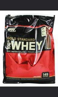 Optimum Nutrition Gold ON  Protein Whey 10 lb Vanilla Ice Cream 5lbs x2 2018