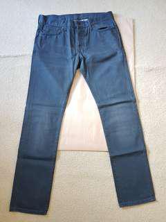 H&M Slim low waist Size 32 Indigo Jeans