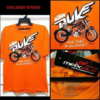 KTM DUKE (Dirt/Road) Fanmade T-shirt 'L' size.