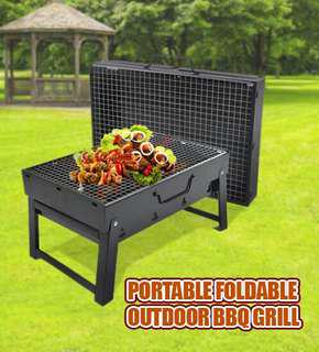 Portable Foldable Outdoor BBQ Grill