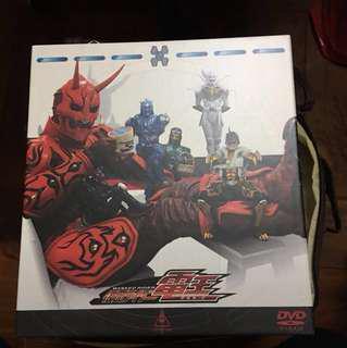 蒙面超人 kamen rider 假面騎士 電王 DVD boxset 1-10