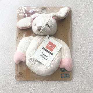 全新miYim有機棉兔兔固齒器