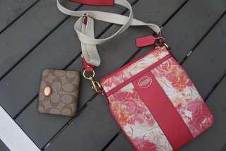 BRAND NEW Coach shoulder bag and wallet