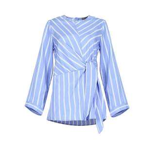 Poplook Sash Stripes top