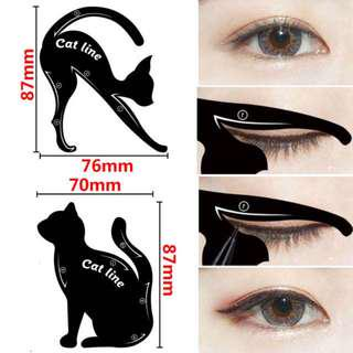 Eyeliner Guide Kitty Cat