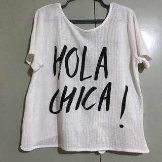 H&M hola chica backless top