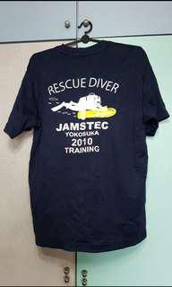 Jamstec Rescue Diver Tee