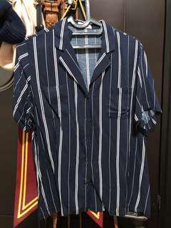 M By Mischa striped shirt