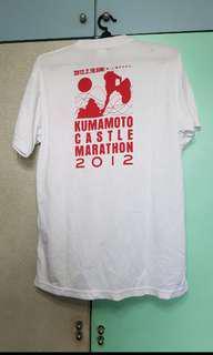 Kumamoto Castle Marathon 2012 Finisher Tee