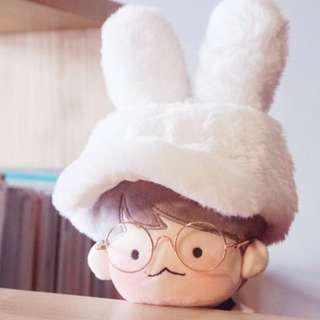 WTB EXO doll cloth fluffy hat