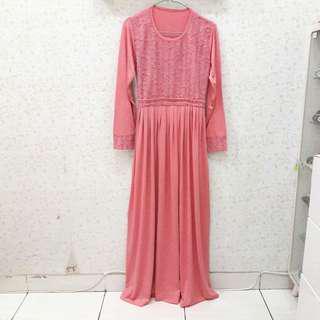 Gamis Syari/Dress Wanita/Baju Busana Muslim/Maxi Dress