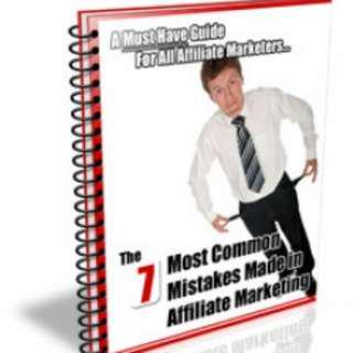 EBOOK-  NON FRICTION PDF - 7 Most Common Mistakes Made in Affiliate Marketing - 12 PAGES