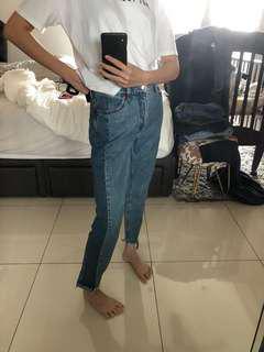 Bi-color jeans