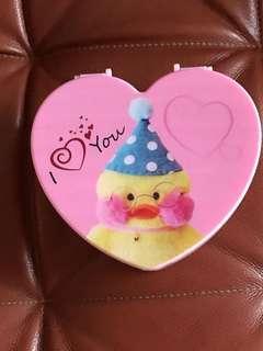 👧🏻 💍 Heart-shaped Trinkets Case.