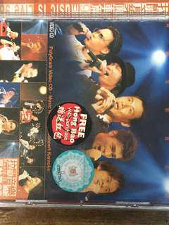 Concert featuring jacky cheung VCD