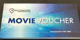 🚚 Shaw Movie Tickets ( < $10 ) Depend of Qty purchase