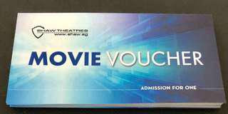 🚚 Shaw Movie Ticket ( < $10 ) each depend on Qty purchase)