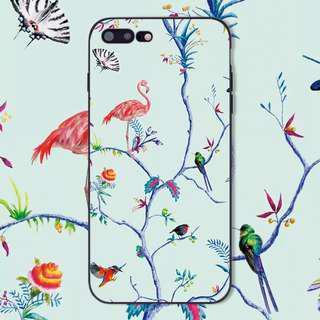 Birds Flamingo of A Paradise iPhone Casing Case