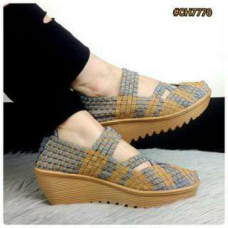 BESTSELLER IN STORE Sepatu Fashion Wanita Murah Wedges Shoes Heels 5.5cm  ORIGINAL BRAND  CH7770 7296d9b88b