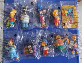 Burger King - The Simpson Collectible Toys
