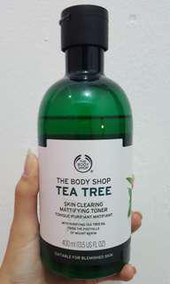 THE BODY SHOP TEA TREE TONER 400ml