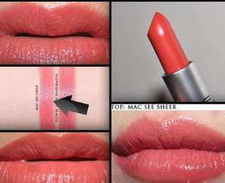 MAC See Sheer Lustre